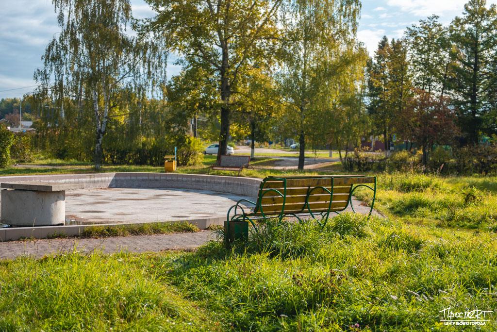 проспект медиа, сквер на Комсомольской, благоустройство Коврова