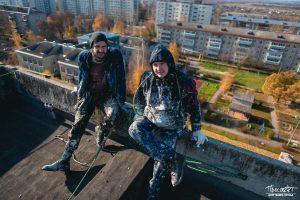 проспект медиа, промышленный альпинизм, Ковров с высоты, крыши Коврова, Игорь Староверов