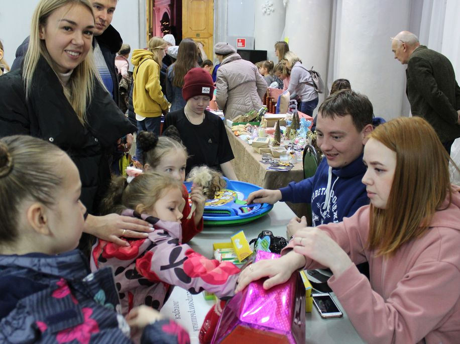 проспект медиа, новогоднйи подарок, марафон, ДК Ленина, благотворительность