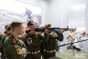проспект медиа, кадеты, музей оружия, лазерный тир