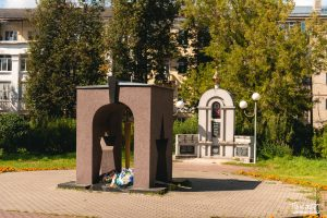проспект медиа, сквер на абельмана, мемориал воинам интернационалистам