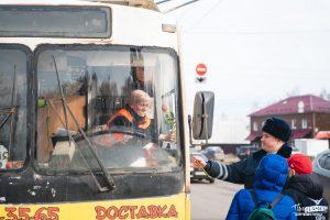 проспект медиа, масочный режим, общественный транспорт, троллейбусы в коврове, рейды