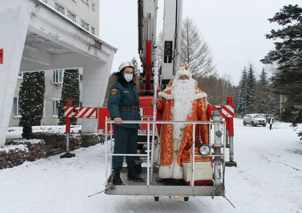 проспект медиа, дед мороз, дед мороз в коврове, новый год