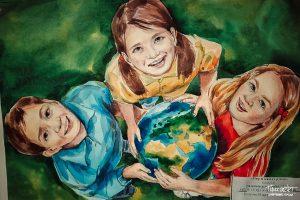 проспект медиа, дети рисуют мир, выставка, современник, союз городов воинской славы