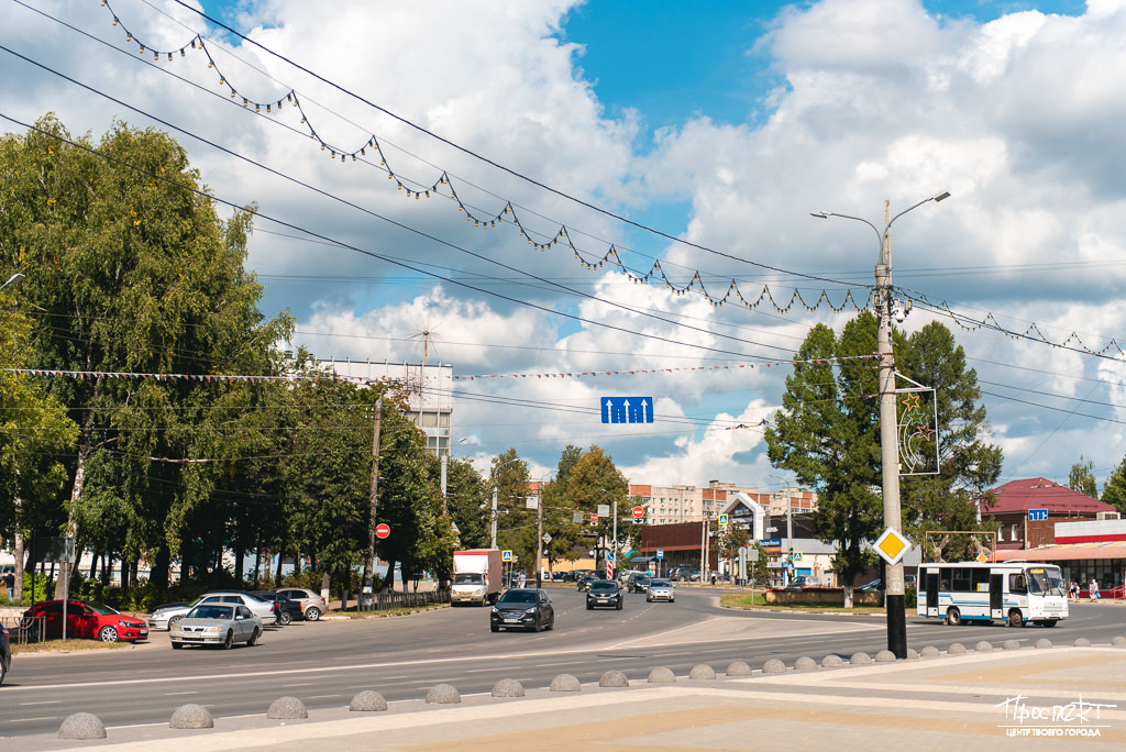 проспект медиа, площадь 200 летия коврова