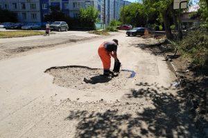 проспект медиа, улица фрунзе, ремонт дорог в ковровео