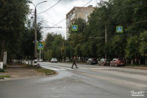 проспект медиа, улица социалистическая, пешеходный переход, дороги в коврове