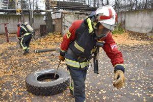проспект медиа, пожарный кроссфит, ковровские спасатели, пожарное многоборье