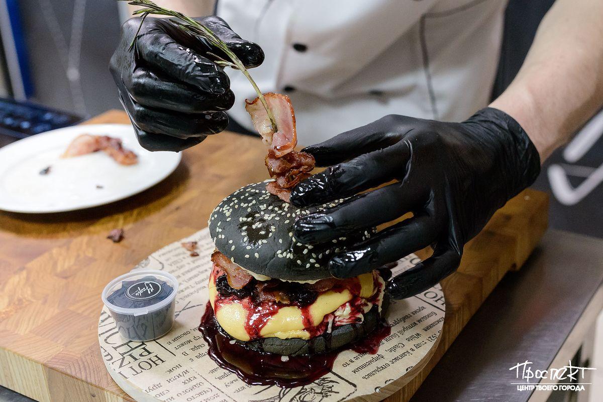 Черная мамба бургер где купить в