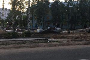 Проспект.Медиа, сквер Сергея Никитина, 240 лет Коврову, благоустройство