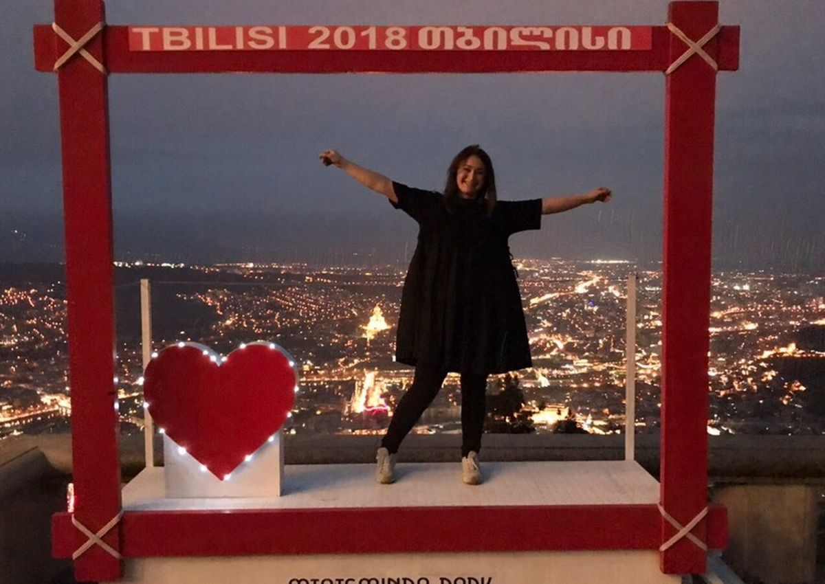 Грузия, Тбилиси, проспект медиа