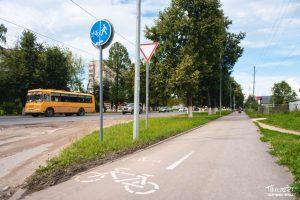 проспект медиа, велосипедная дорожка