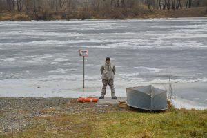 проспект медиа, зимняя рыбалка, безопасность на воде