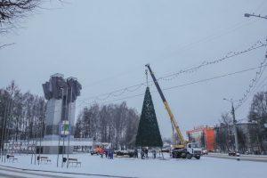 проспект медиа, елка в коврове, площадь 200-летия Коврова
